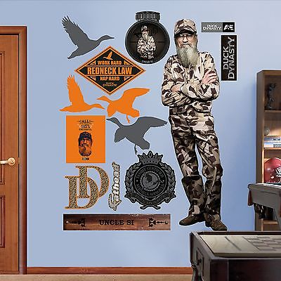 Si Robertson Duck Dynasty Fathead Wall Sticker - Collection - Decor - Image