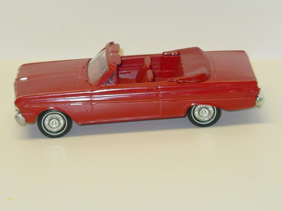 Vintage Plastic 1964 Ford Falcon Sport Convertible Dealer Promo Car