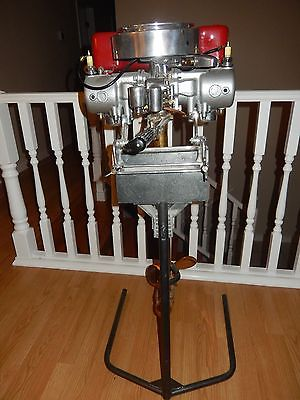 Restored Late 20's Antique 5 Speed Caille Outboard Motor