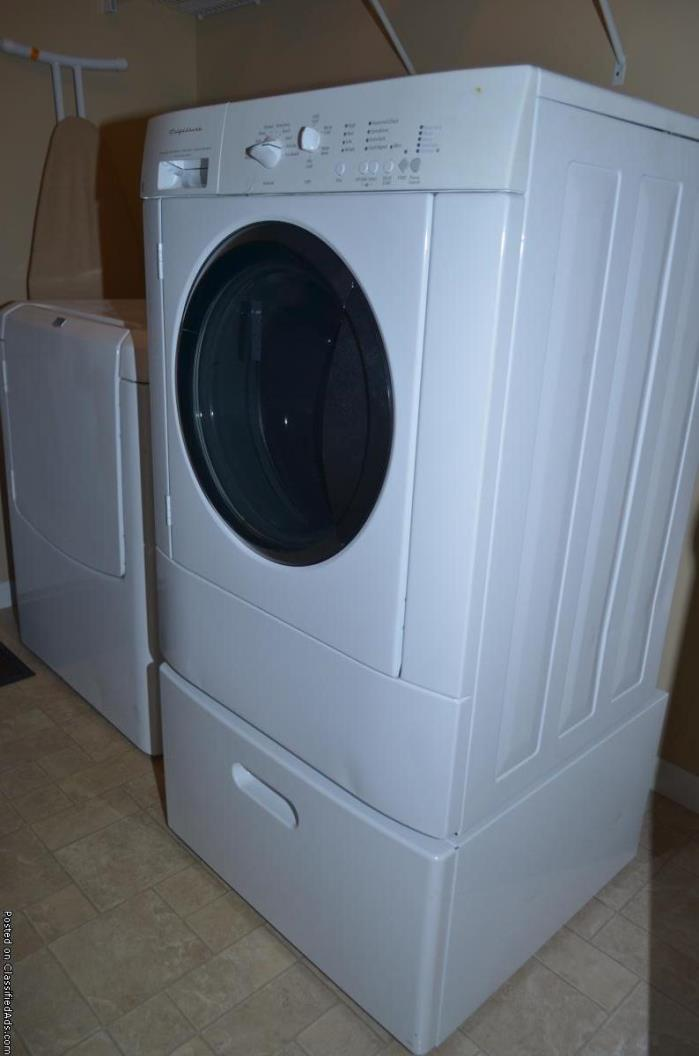 Frigidaire Washer Dryer Pedestal For Sale Classifieds