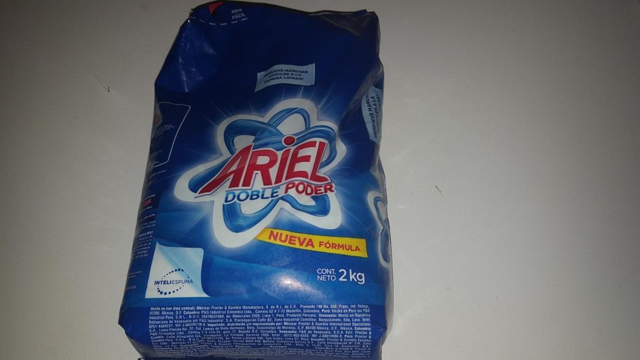 Ariel Powder detergent laundry soap