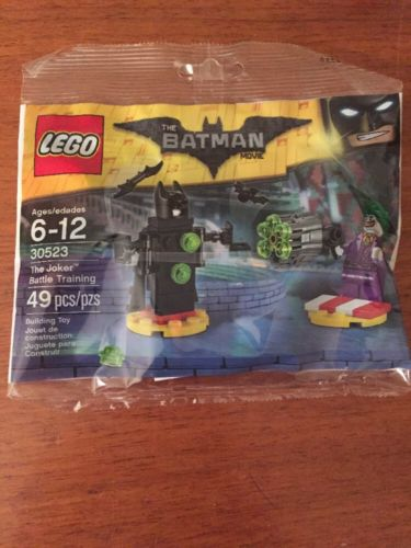 Lego The Batman Movie Set 30523 The Joker Battle Training