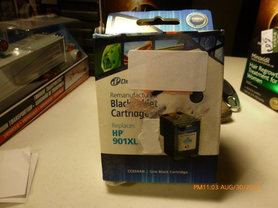 Dataproducts Remanufactured HP 901XL Black High Yield Ink - DPSDPCC654AN