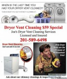 Affordable Dryer Vent Cleaning in Parsippany NJ