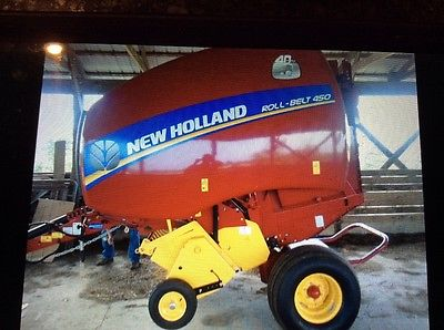 New Holland 450 roll baler (twine wrap) 2016