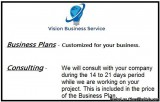 Startup Business Plan Pkg Consulting for days .