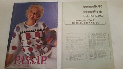 Passap International #54 MACHINE KNITTING PATTERN BOOK Magazine