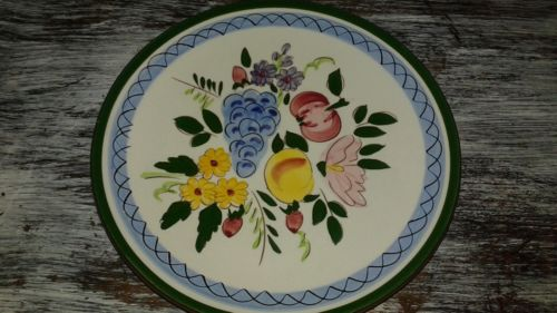 Stangl Fruit & Flowers Salad Plate