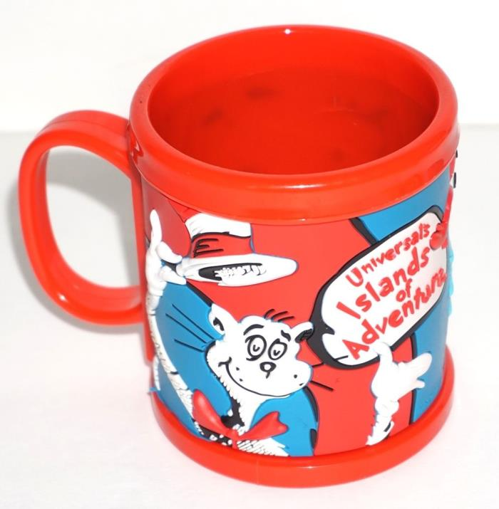 Dr. Seuss Universal's Islands of Adventure Sam Thing 1 & Thing 2 Red Youth Mug