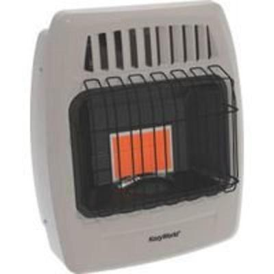 1 Plaque 6000 Btu Gas Wall Heater World Marketing Space Heaters KWP210