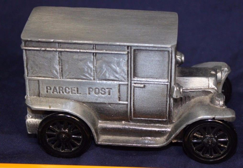 1974 Banthrico Bank  USPS Mail Parcel Post Bank 1916 Ford Delivery Truck
