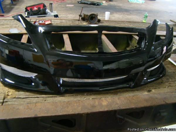 infinity front bumper