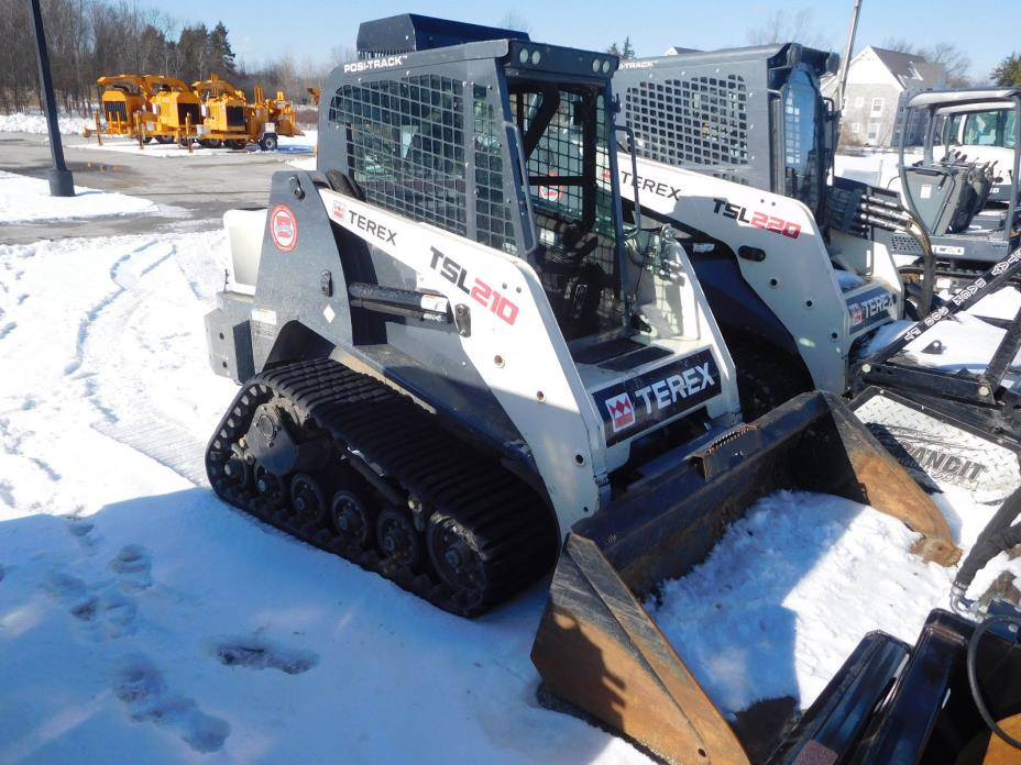 TEREX TS210 Compact  Mini Loader