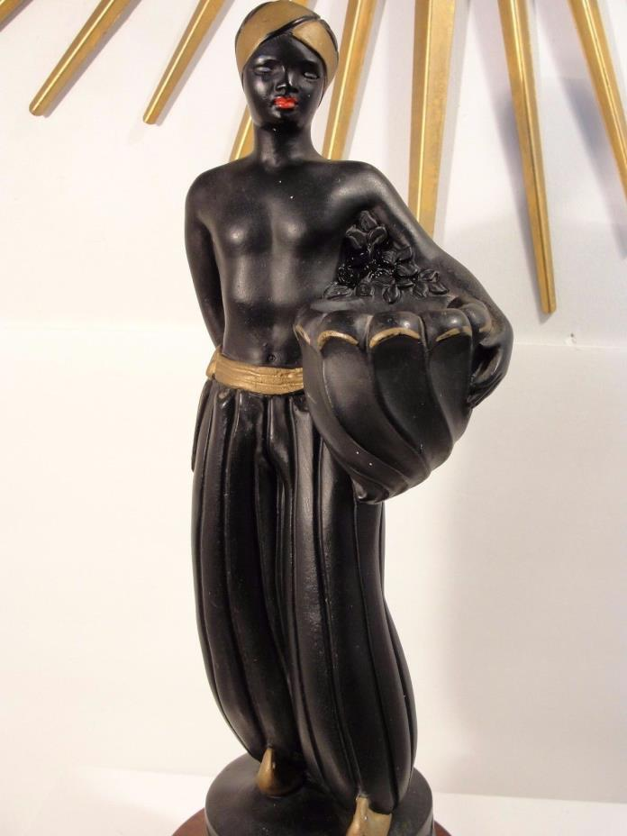 ABCO CHALK STATUE, MADE BY ALEXANDER BACKER CO, APPROX. 12
