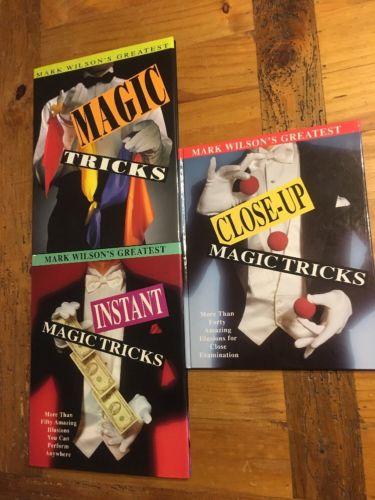 Mark Wilson's Greatest Magic Tricks,books, Lot 3