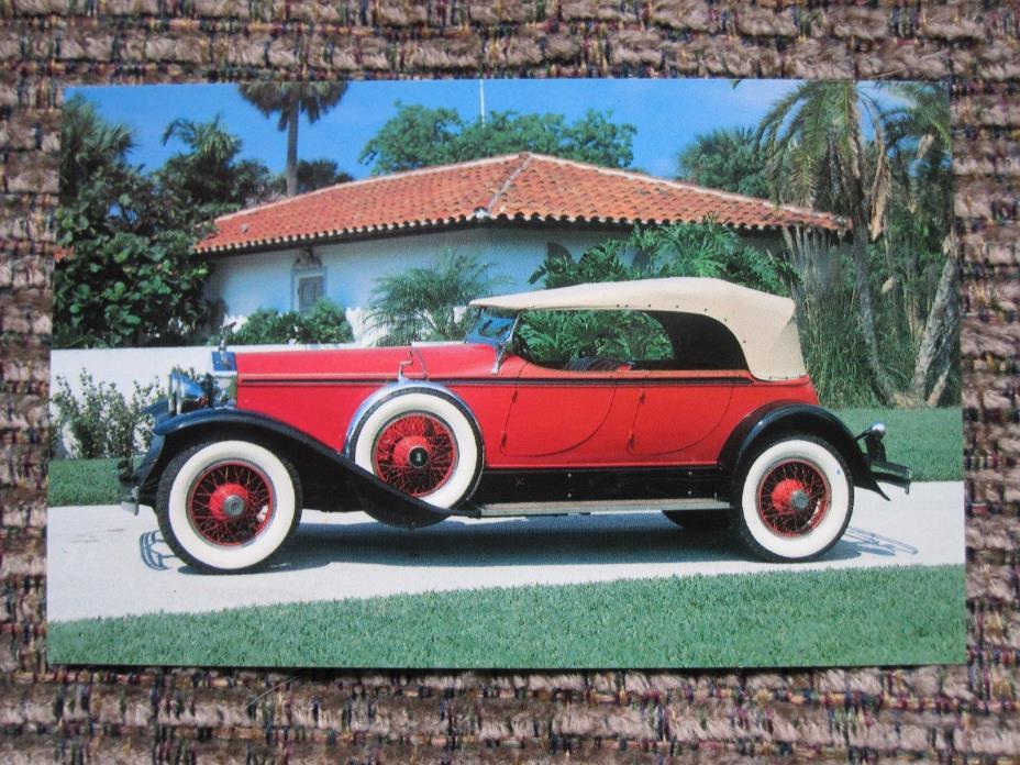 Postcard - 1929 Rolls Royce Phantom 1