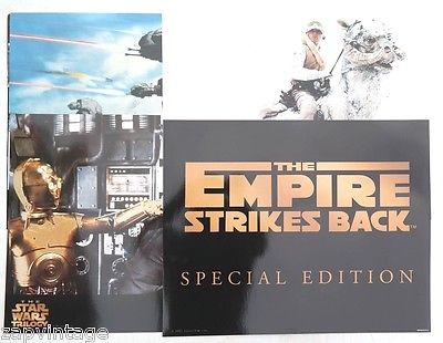 6 STAR WARS Trilogy The Empire Strikes Back LOBBY CARDS 16 X 20 SEALED