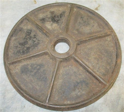 Small Plate No 25 Lard Press Sausage Stuffer Wine Fruit Cast Iron Parts Repair