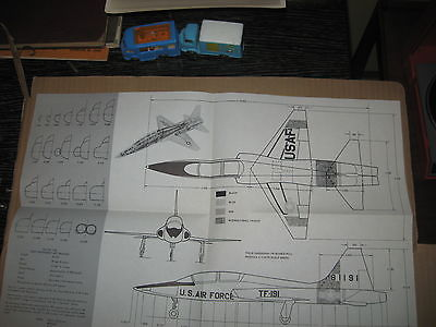 TALON T-38 SUPERSONIC TRAINER PHOTOS PLANS