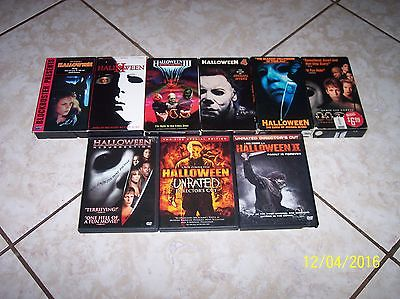 Michael Myers Movie Collection...Super Cool!!!