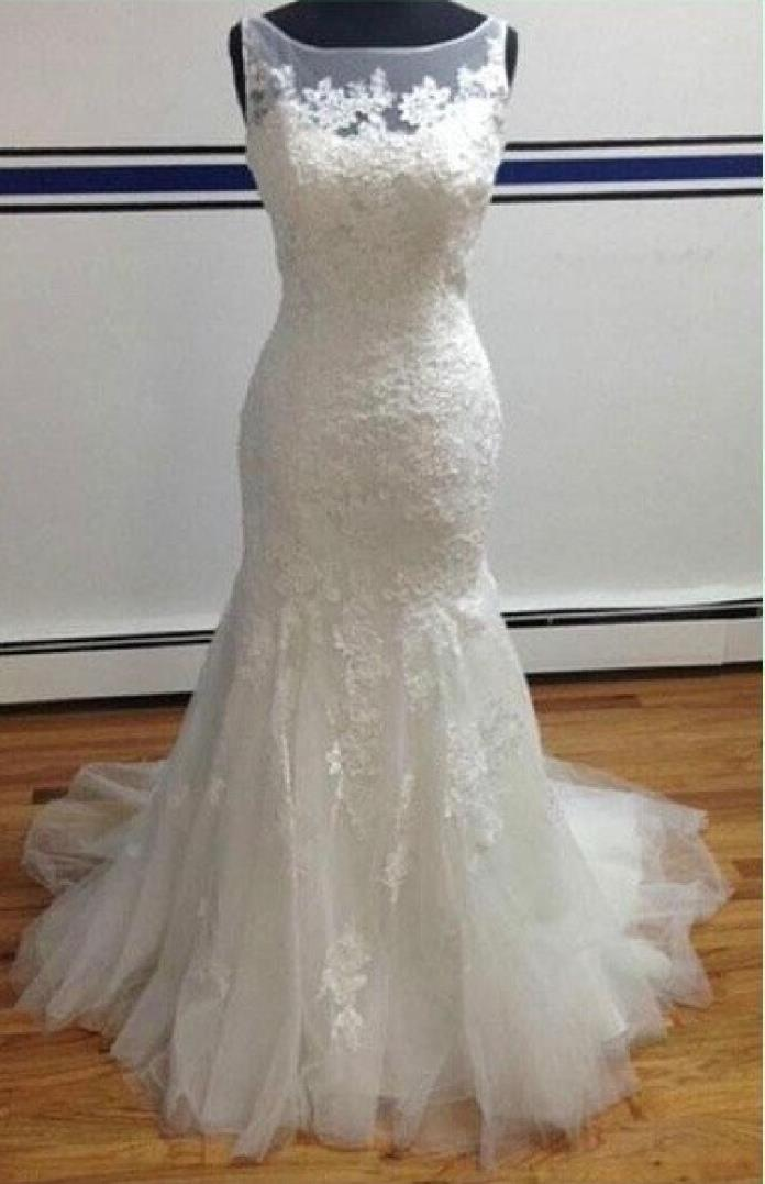 Julie's Lace Mermaid Wedding Dress