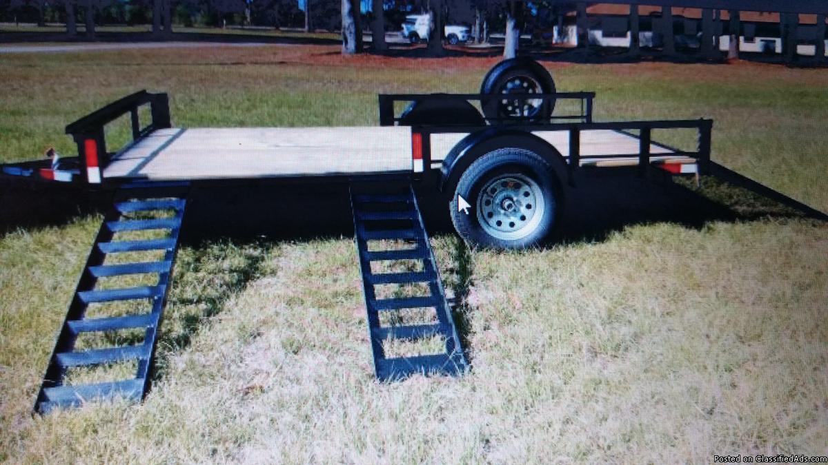 Cargo, Utility, Equipment, Dump trailers for Sale