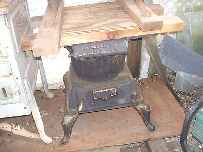 WOOD BURNING LAUNDRY STOVE
