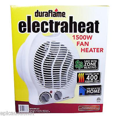 DURAFLAME - 1500W Fan Heater - Portable Electric Zone Space Heating ?FREE SHIP?