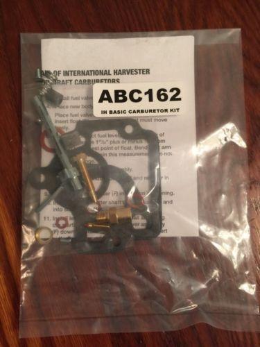 IH/FARMALL Basic Carburetor Repair Kit H, HV, 4 Series
