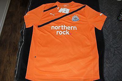 Newcastle United Jersey 2011-2012 Away Puma Jersey Mens Large