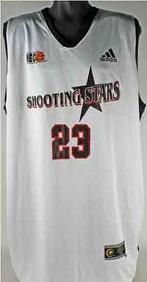 LeBron James Game Used Basketball Jersey AAU Shooting Stars Cleveland Cavaliers