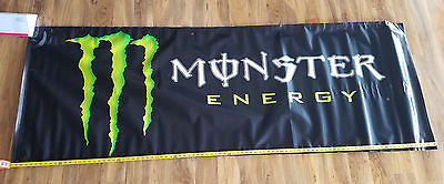 HUGE MONSTER ENERGY drink BANNER supercross gear BMX snowboard skate advertising