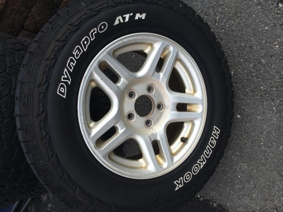 Ford Explorer Wheels & Tires