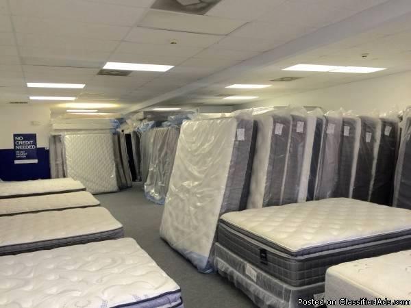 Brand New, Brand Name Mattress Sets - 50-80% Off Retail