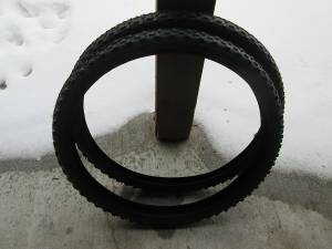 New mountain bike tires - Never used. Both for (Missoula)