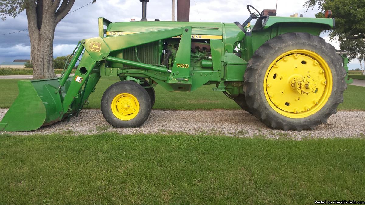 4030 John Deere Diesel Tractor