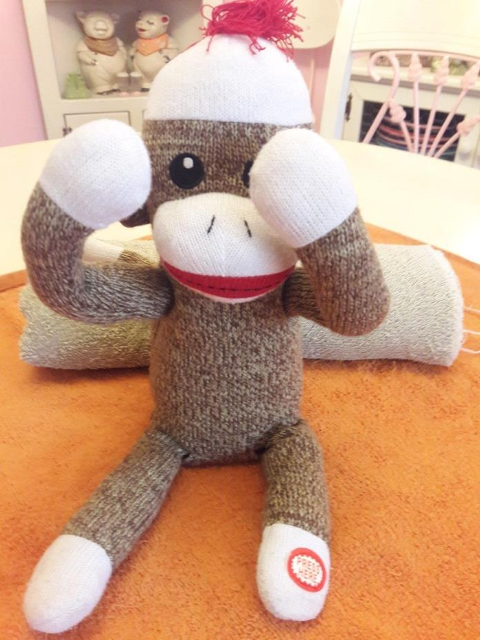 Baby Starters Peekaboo Sock Monkey Toy