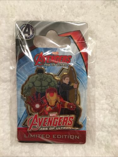 Hong King Disneyland Avengers Age Of Ultron Opening Day Pin Limited Edition