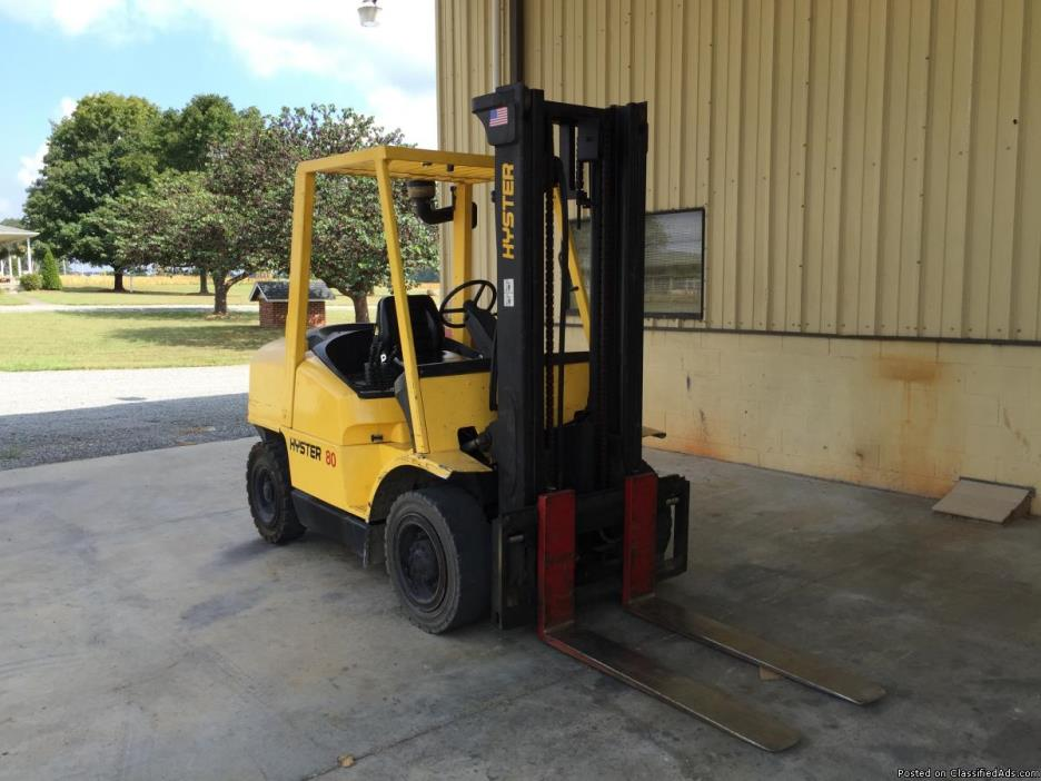 Hyster 80 Fork Lift