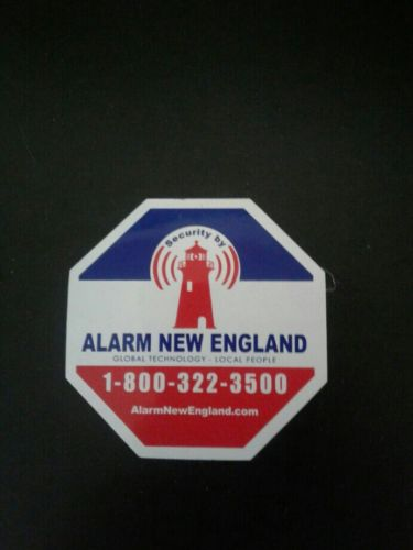 HOME ALARM STICKER