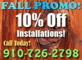 HenRo Flooring Professionals Offer off for Fall