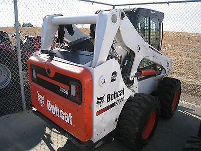 2011 Bobcat S-650 Skid Steer Loader