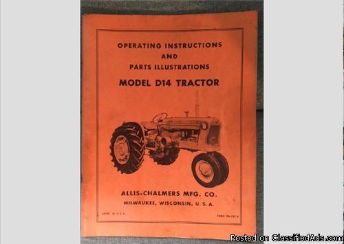 1981 Allis Chalmers D14