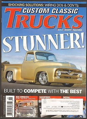 MAY 2013 CUSTOM CLASSIC TRUCKS MAGAZINE 1955 FORD F-100, 1956 CHEVY, 1981 C-10