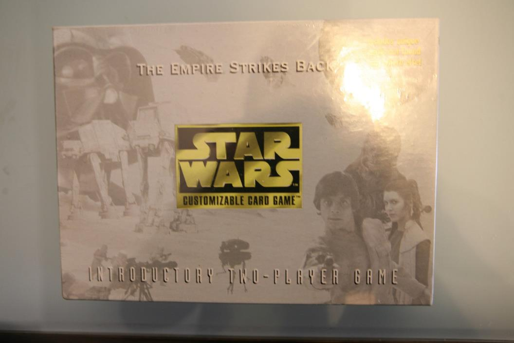 Star Wars Empire Strikes Back Customizable Card Game FACTORY SEALED
