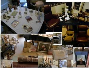 Moving sale - antiques, collectibles, artwork, furniture, decor