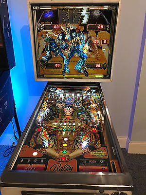 KISS Pinball Machine perfect running 100% Original