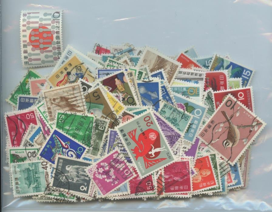 JAPAN--Accumulation of 453 stamps