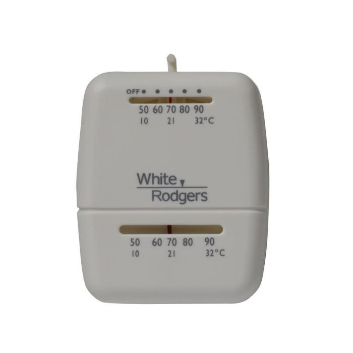 White Rodgers M30 24V M30 Heat Only Non-Programmable Thermostat FREE FAST SHIPPI
