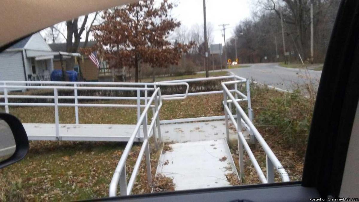 aluminum disability ramp or boat ramp